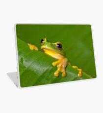 Peek-a-frog Laptop Skin