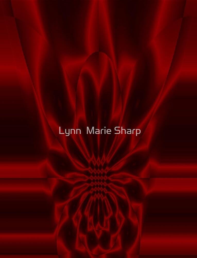 Crimson Flare by Marie Sharp