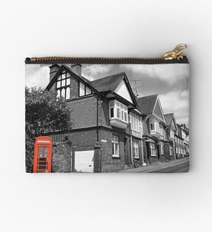 Red Telephone Box - Marlborough Studio Pouch