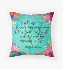 Books Are....  Throw Pillow