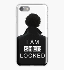 I am SHERlocked iPhone Case/Skin