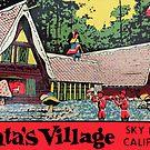 Santa's Village California Vintage Travel Decal by hilda74