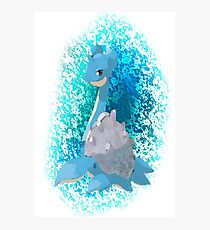 Pokemon Lapras Photographic Print