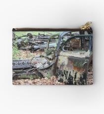 December Old Motor Car Studio Pouch
