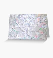 Torch Flower Peeled  Greeting Card