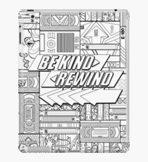 Be Kind Rewind - 80s Throwback, 1980s, 80s iPad Case/Skin