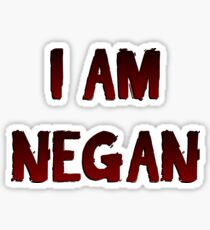 The Walking Dead Season 8 I Am Negan Sticker