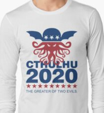 Vote Cthulhu 2020 Long Sleeve T-Shirt