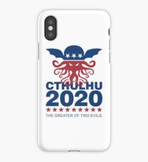 Vote Cthulhu 2020 iPhone Case/Skin