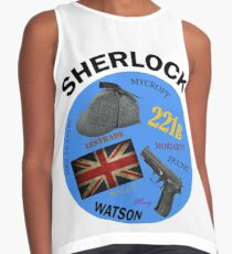 This is My Sherlock Aesthetic  Contrast Tank
