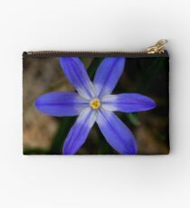 Blue flower 3 Studio Pouch