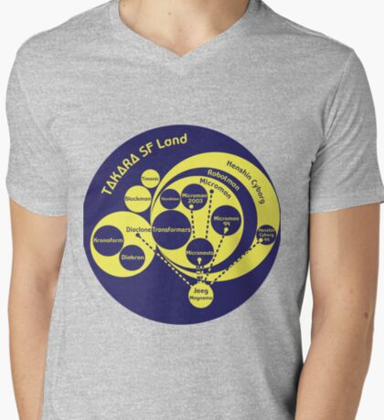 A Phylogeny of Robots: Blue-Yellow T-Shirt