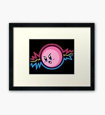 Baseset Kirby Framed Print