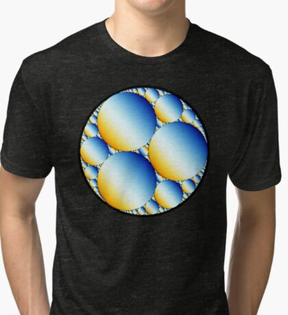 Apollonian Gasket 010 Tri-blend T-Shirt