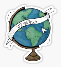 Traveling the World Sticker