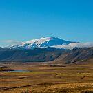 Snæfellsjökull volcano Iceland by Chris Thaxter