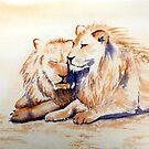 Brotherly Love by Pat  Elliott