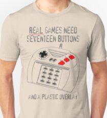 Jaguar Controller - REAL Games Need... T-Shirt