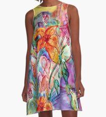 Wild Lily A-Line Dress