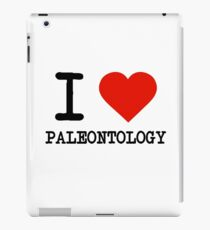I Love Paleontology iPad Case/Skin
