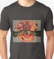 My Hearts Burst Into Fire Unisex T-Shirt