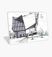 Architecture Sketch – UFA Cinema in Dresden, Germany Laptop Skin