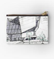 Architecture Sketch – UFA Cinema in Dresden, Germany Studio Pouch