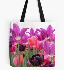 Tulip Pastels Tote Bag