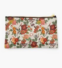 Art Supply Floral Pattern Studio Pouch