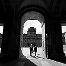 Stepping back in time – Louvre Palace, Paris, France by Norman Repacholi