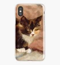 Calico Kitten iPhone Case