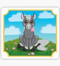 Flower Pony Sticker