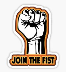 Join the Fist Sticker