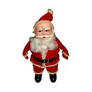 Creepy Vintage Santa Claus by hilda74