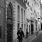 Parisian pedestrian - France by Norman Repacholi