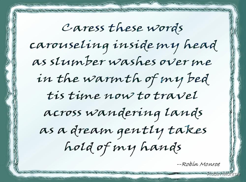 Sweet Dreams - Word Art by Robin Monroe
