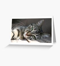I Get Lost In Your Eyes Greeting Card