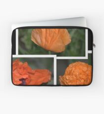 A Poppies Folds........ the many stages.. Laptop Sleeve
