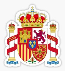 Spain Coat of Arms - Escudo de Espana Sticker