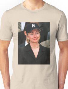 Hillary Clinton Yankees Hat / Rihanna T-Shirt Unisex T-Shirt