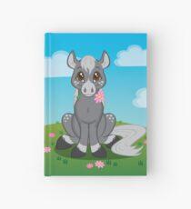 Flower Pony Hardcover Journal