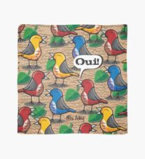 The birds of Jardin du Luxembourg Scarf