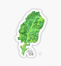 KALE YEAH - Illustrated  Sticker