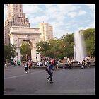 «Washington Square, Greenwich Village, Nueva York, NY» de Ellen Turner