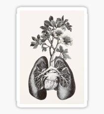 Green lungs Sticker