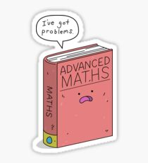 Maths Problems Sticker