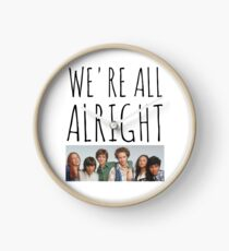We're All Alright Clock