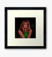 Dalida Portrait Painting Framed Print