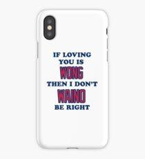 Cardinal Love iPhone Case/Skin
