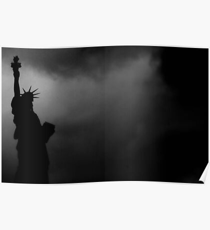 LIBERTY IN DARKNESS Poster